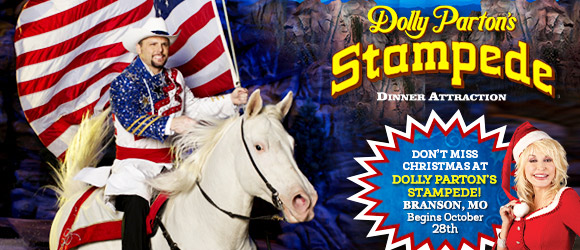 Dolly Parton's Stampede Honors Veterans