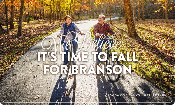 We believe it's time to fall for Branson