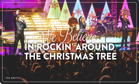 We Believe in Rockin' Around the Christmas Tree
