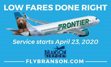 Low Fares Have Arrived in Branson!