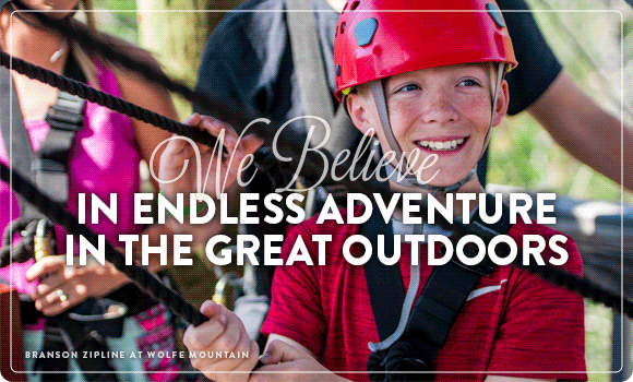 We Believe in Endless Adventure in the Great Outdoors