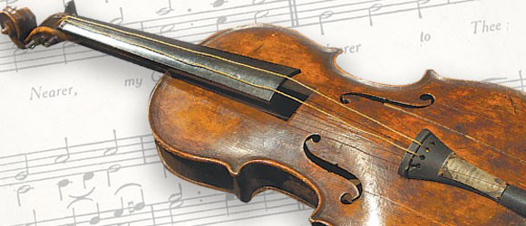 Violin Played as Titanic Sank to Titanic Museum Attraction
