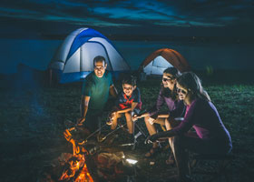 Camping in Branson