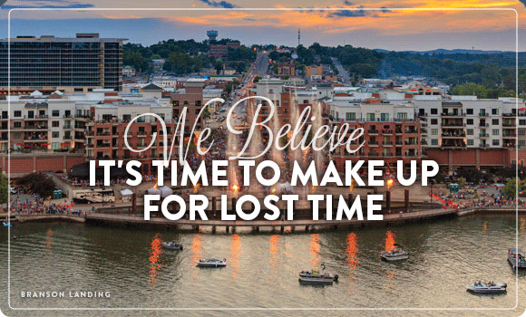 We Believe It's Time to Make Up for Lost Time