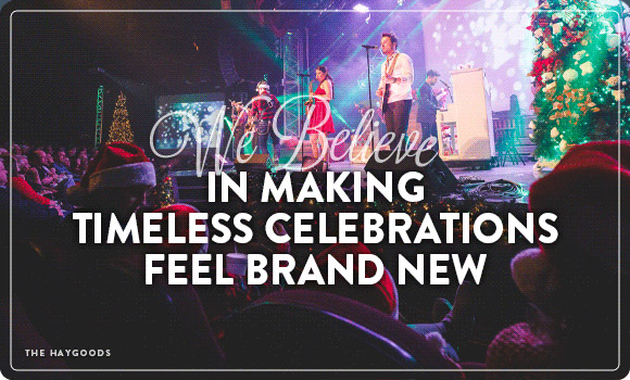 We Believe in making timeless celebrations feel brand new